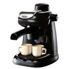 Bundle 2 Items: Delonghi EC5 Steam Driven Coffee Maker w/ Cappuccino System 220-volt, Acucraft Acupwr Plug Kit