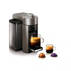 Nespresso Vertuo Coffee and Espresso Machine by De'Longhi, Graphite Metal