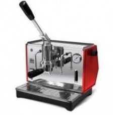 Pontevecchio Lusso Lever Espresso Machine Red