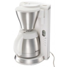 Vitantonio coffee maker [stainless steel formula / timer 2 tier vacuum with (with clock): VCD-10-W