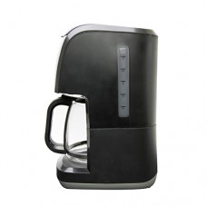 West Bend 56911 12 Cup Steep & Brew Coffee Maker, Black/Metallic