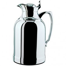 Alfi vacuum carafe Opal Top Therm, Thermal carafe, Coffee Pot, Chrome plated brass, 1.5 Liter, 697000150