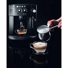 Delonghi Magnifica Automatic Espresso Machine with Milk Froth, Cappuccino System and Aroma Control, Black, ESAM 4000