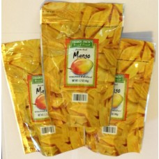 3 Pack Trader Joe's Freeze Dried Mango Unsweetened & Unsulfured 1.7oz