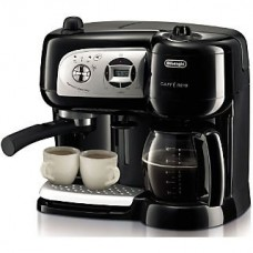 Delonghi BCO264 Cafe Nero Combo Coffee and Espresso Maker; Black
