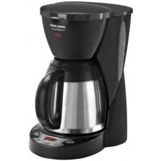 Black & Decker DCM2590 SmartBrew 8-Cup Drip Coffeemaker with Thermal Carafe, Black