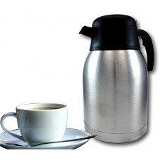EZ Pour Stainless Steel Coffee Carafe - Double Wall Vacuum Insulated Carafes by bogo Brands