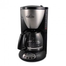 * Home/Office Euro Style Coffee Maker, Black/Stainless Steel
