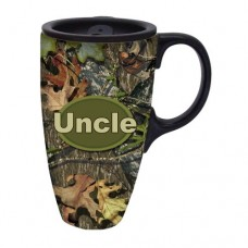Mossy Oak Uncle Traditional Travel Coffee Mug