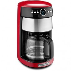 KitchenAid Empire Red 14-Cup Programmable Coffee Maker - KitchenAid Model - KCM1402ER - Set of 2 Gift Bundle