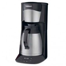 Remanufactured Cuisinart DTC-975BK 12-Cup Programmable Stainless Thermal CoffeeMaker, DTC975 Black