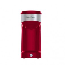 West Bend Single Serve Coffee Maker - Red
