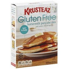 Krusteaz, Gluten Free, Pancake Mix, Buttermilk, 16oz Box (Pack of 3)
