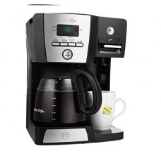 Mr. Coffee 12-Cup All Purposed Programmable Coffee Maker and Hot Water Station, Black, BVMC-DMX85WM