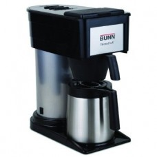 BT Velocity Brew 10 - Cup Thermal Carafe Home Coffee Brewer in Black by Bunn