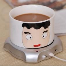 USB Power Suply Tea Coffee Cup Mug Warmer Heating Cup Mat Pad Coasters