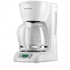 Black & Decker Dlx1050w Programmable Coffee Maker, 12-cup, White
