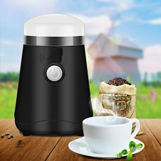 MOMO Electric Grinder, Grinder Household, Mill, Commercial Coffee Machine, Grinder 220v,White,One Size