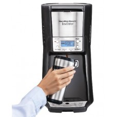 Coffee Maker, Programmable BrewStation Dispensing Coffee Machine, 10 - Cup by Hamilton