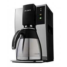 Mr. Coffee Smart Wifi-Enabled WeMo 10-Cup Optimal Brew Coffeemaker, BVMC-PSTX91WE