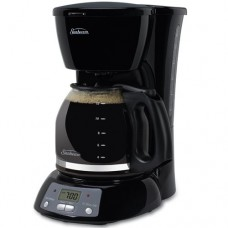 Sunbeam TGX24 12-Cup Programmable Coffeemaker, Black