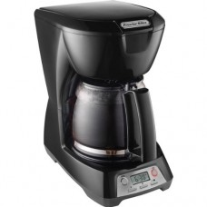 Black 12-Cup Programmable Coffeemaker