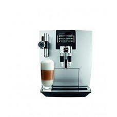 Jura 15075 Automatic Coffee Machine J90, Brilliant Silver with Automatic Milk Frother