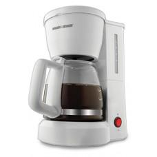 Black & Decker DCM600W 5-Cup Coffeemaker, White