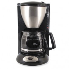 "Coffeemaker, 12-Cup, 8""x11""x14-1/2"", Black, Sold as 1 Each"