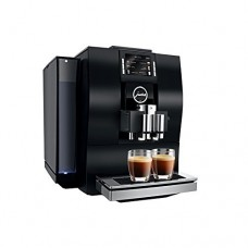 Jura 15182 Automatic Coffee Machine Z6, Aluminum Black with Automatic Milk Frother