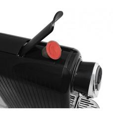 Cappuccino and Espresso Maker For Nespresso Compatible Capsules By Mixpresso (Black)