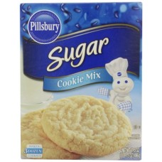 Pillsbury Sugar Cookie Mix, 17.5 Ounce (Pack of 12)
