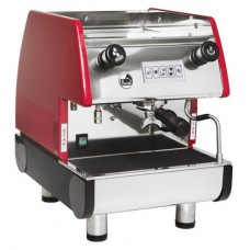 La Pavoni PUB 1V-R  - 1 Group Commercial Espresso Cappuccino machine, Red