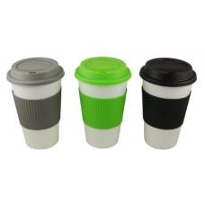 Reduce GoGo's Barista Coffee Cups, 16-Ounce, Fairway White