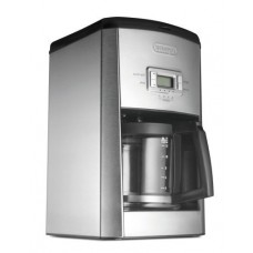 DeLonghi 14-Cup Programmable Drip Coffeemaker with AromaButton, Pause and Serve Feature and Built-In Cup Warmers, 24 Hour Digital Timer
