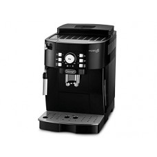 Delonghi Magnifica S Automatic Espresso Machine with Milk Frother, New Thermoblock and Aroma Saving Cover, Black, ECAM21117