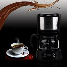 JPOQW Best Gift Haier HXS-BSD02 5-Cup Capacity Self Coffee Maker for Home Office, Black (Ship from US)