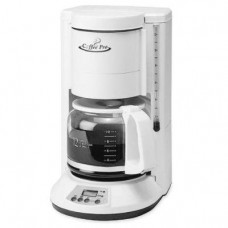 Coffeepro CP330W Automatic Coffeemaker, 12-Cup, 8 in.x8-1/2 in.x13 in., White