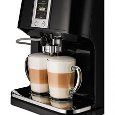 KRUPS EA8808 2-IN-1 Touch Cappuccino Super Automatic Espresso Machine, 57-Ounce, Black