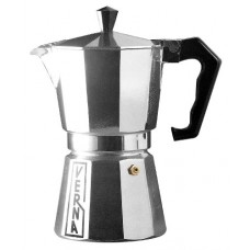 Verna VE03006 6-Cup Verna Aluminum Stove Top Espresso Coffee Maker