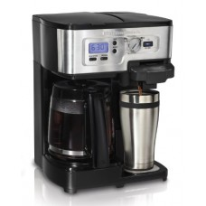 Hamilton Beach 49983 FlexBrew 1-12 Cup CoffeeMaker with 80365 Automatic Grinder
