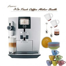 Jura J9 One Touch TFT Super Automatic Coffee Center Outfit