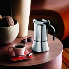 Venus Espresso Coffee Maker, Stainless Steel, 6 cup