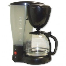 None Filter Coffee Maker Single Jug Capacity 8-10 Cups Black