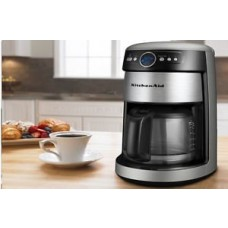Nw Kitchenaid Architect Kcm222cs Silver 14 Cup Glass Carafe Digital Coffee Maker One Day Shipping Good Gift Fast Shipping