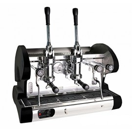 Commercial Pull Lever Espresso Machine (Black)